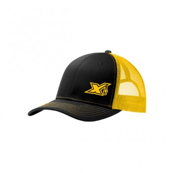C112-Black/Gold X logo