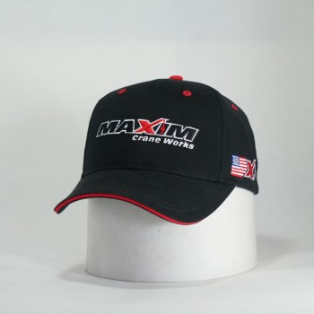 U02876 - Black w/Red Sanwich Visor