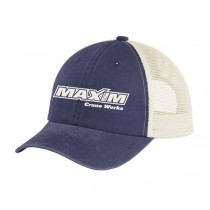 Dad Hat - Tidal Wave Blue Unstructured Beach Washed Soft Mesh Snap Back