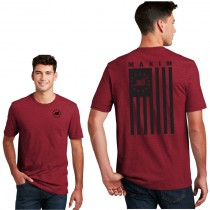 Red Fleck Freedom Flag Premium Tee