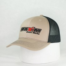 Khaki / Black Premium Twill w/Mesh Snap Back