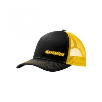 C112- Black/ Gold Maxim Logo