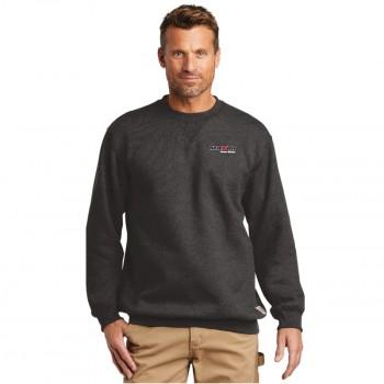 CTK124-Carbon Heather Sweat Shirt