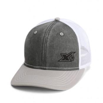 MX803 Washed Black/Chracoal w/ white mesh