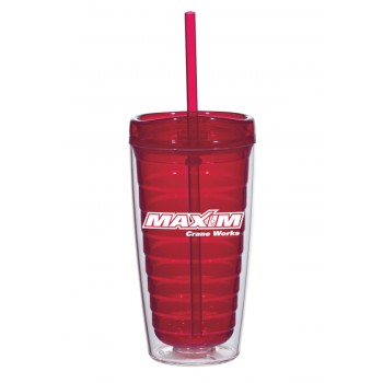 Red Double Wall Tumbler
